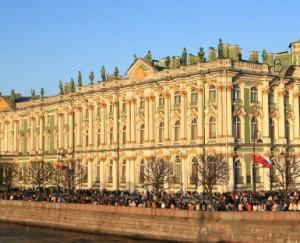 historic center of saints Petersbourg